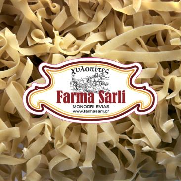 Χυλοπίτες - Ζυμαρικά - Βιολογική Φάρμα & Αγρόκτημα Σάρλη